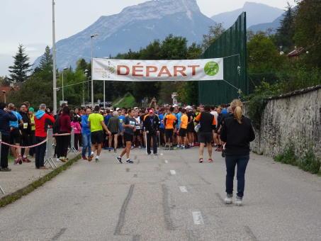 Photos départ et 1er km