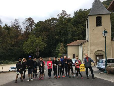 Photos marche nordique chrono 9 km