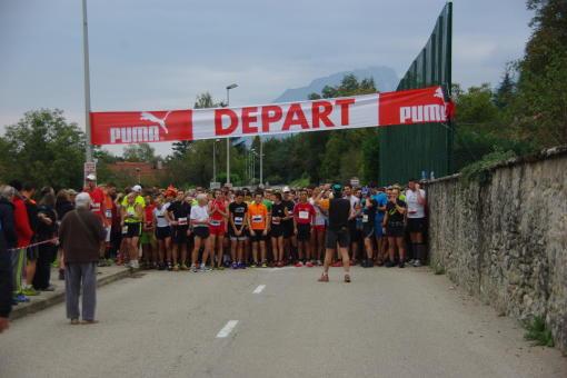 Départ courses 15km et 9km