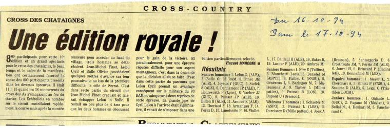 Articles de presse DL2 1994