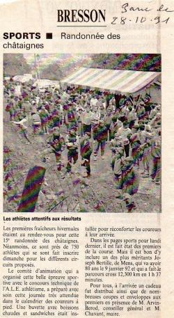 Articles de presse DL2 1991