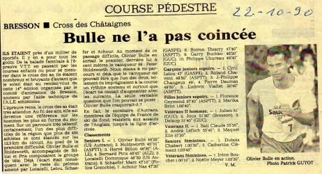 Articles de presse DL 1990