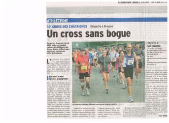 Cross des châtaignes 2013 (DL, avant course)