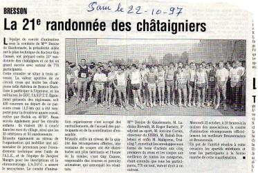 Articles de presse DL 1997