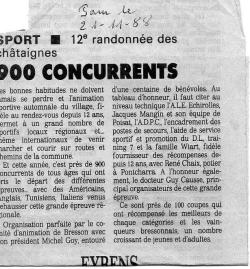 Articles de presse DL 1988