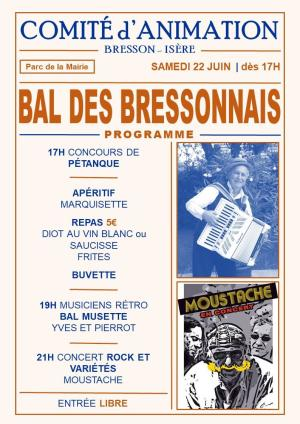 Bal des Bressonnais 2019