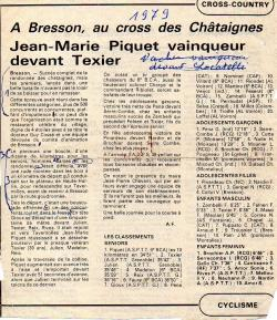 Articles de presse DL 1979