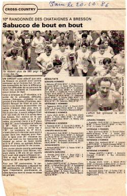 Articles de presse DL3 1986