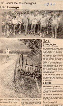 Articles de presse DL2 1986