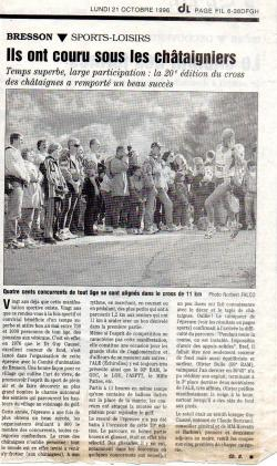 Articles de presse DL2 1996