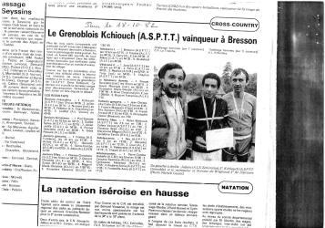 Articles de presse DL4 1982