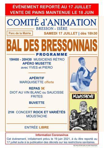 Bal des Bressonnais 2021