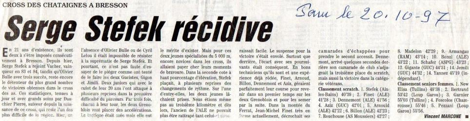 Articles de presse DL2 1997