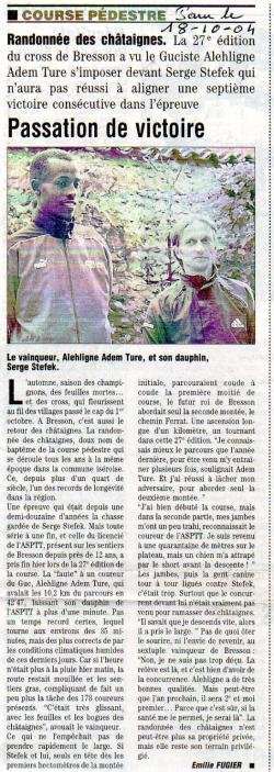 Articles de presse DL 2004