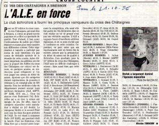 Articles de presse DL 1996