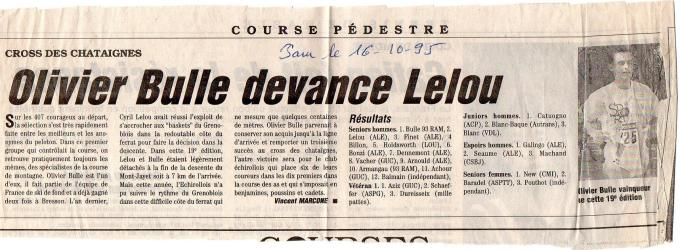 Articles de presse DL 1995