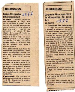 Articles de presse DL2 1977