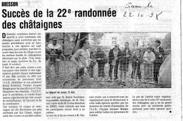 Articles de presse DL 1998
