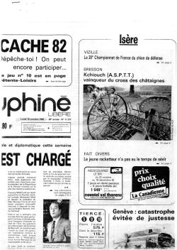 Articles de presse DL 1982