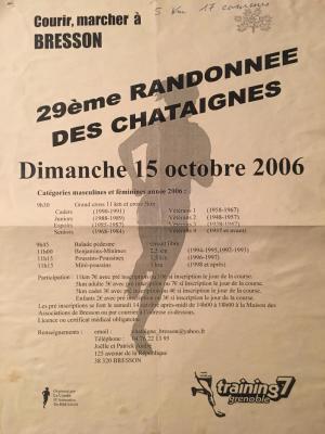 Cross des châtaignes 2000 à 2006