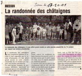 Articles de presse DL 2001 (course off-pas de course officielle)