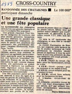 Articles de presse DL2 1989