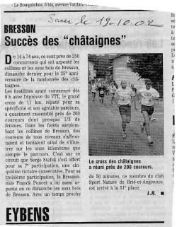 Articles de presse DL2 2002