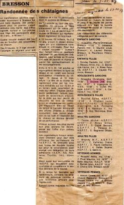 Articles de presse DL 1977