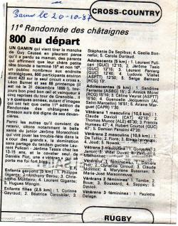 Articles de presse DL3 1987