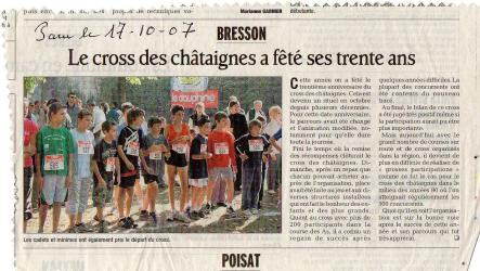 Articles de presse DL3 2007