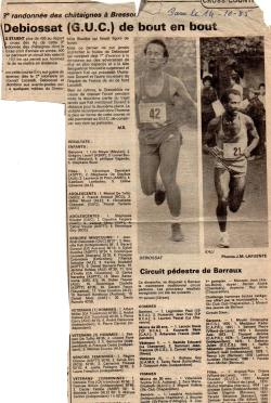 Articles de presse DL2 1985