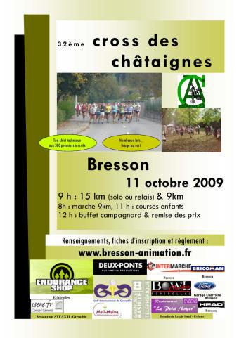 Cross des châtaignes 2009