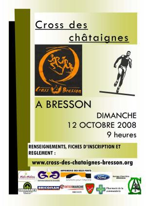 Cross des châtaignes 2008
